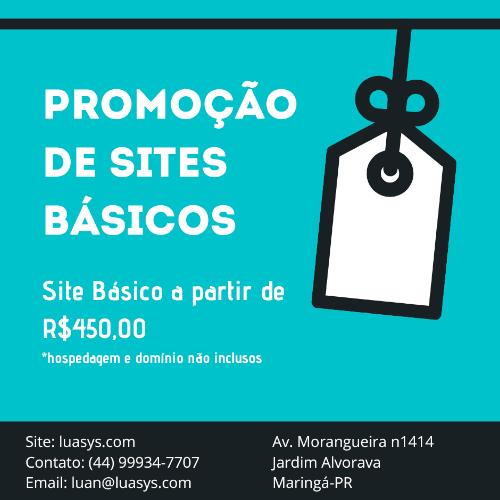 Site Básico
