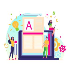 A opção de editar o conteúdo da sua empresa corrigindo algo ou adicionando uma informação.