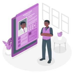 Um espaço onde pode mostrar o seu perfil profissional de modo que seus visitantes conheçam mais sobre sua empresa e tividades