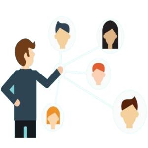 A disponibilidade de se publicar informações e conteúdos dentro da plataforma VCP e compartilhar de modo rápido em suas redes.